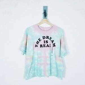 The Dream is Real Tie-dyed XL NEW Top